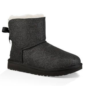 NEW | UGG | Mini Bailey Glitter Bow Boots